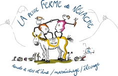 Logo pour la Petite Ferme de Névache