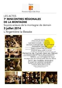 Rencontres régionales de la montagne PACA